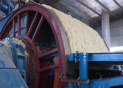 Rockwool and slag-wool production